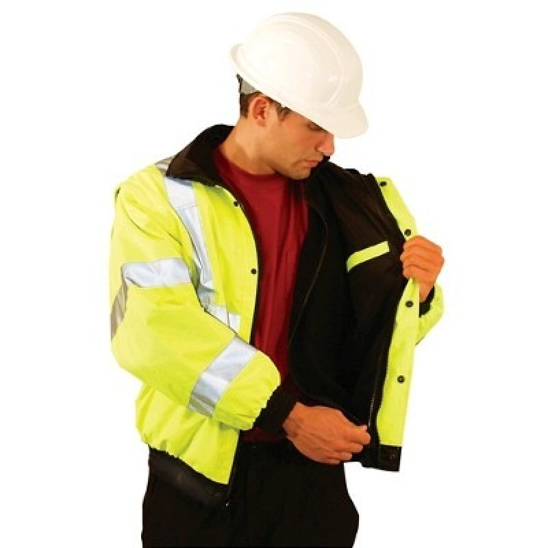 OccuLux High Visibility Bomber Jacket-Class 3