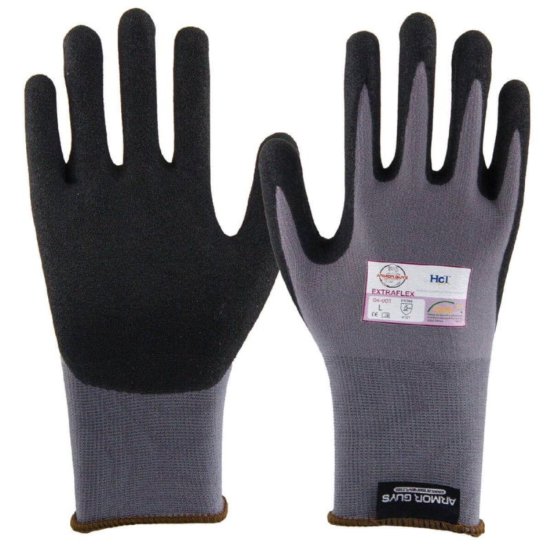 Armor Guys ExtraFlex Glove Gray Color - 1 Pair