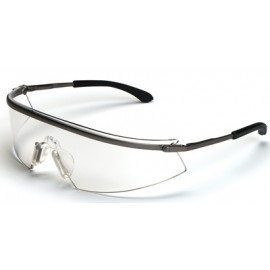 MCR Triwear Metal Safety Glasses with Clear Anti-Fog Lens 1/DZ