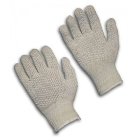 Seamless Knit with Double-Sided PVC Dot Grip Glove - Regular Weight