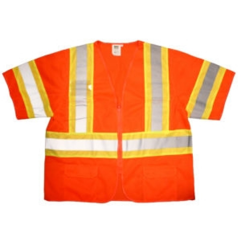 Cordova Safety Vest V3200 Cor-Brite™ Type R, Class 3 Vest Orange
