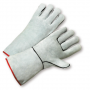 West Chester 930 Standard Split Cowhide Grey Welders Glove 1/DZ