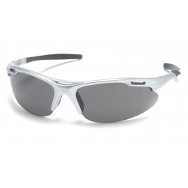 Pyramex  Avante  Silver Frame/Gray Lens  Safety Glasses  12/BX