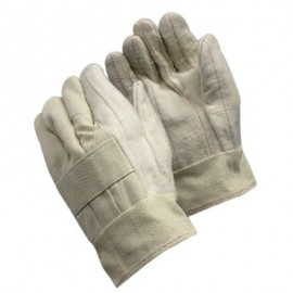 Three Layered Hot Mill Glove with Band Top