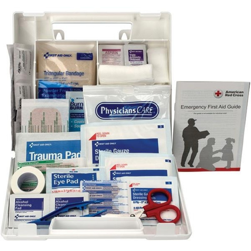 First Aid Only 10-Person Bulk First Aid Kit w/ Dividers