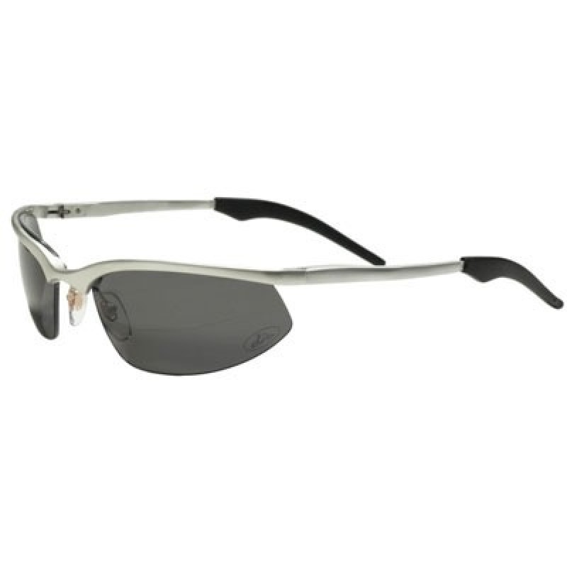 OCC202 Safety Glasses with 1236 Aluminum Frame and Gray Polarized Lens