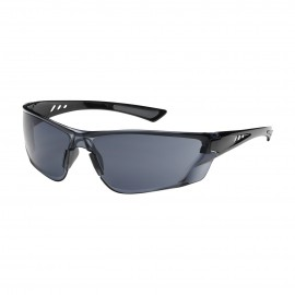 PIP Recon Rimless Safety Glasses with Gray Lens and Anti-Scratch / FogLess 3Sixty Coating