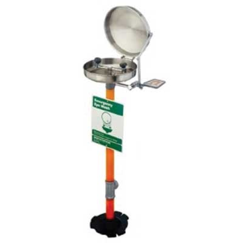 Guardian Pedestal Mounted Eyewash Station with Cover