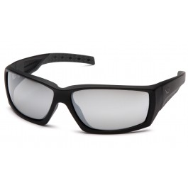 Venture Gear Tactical - Overwatch - Black Frame/Silver Mirror Anti-Fog Lens Polycarbonate Safety Glasses - 1 / EA