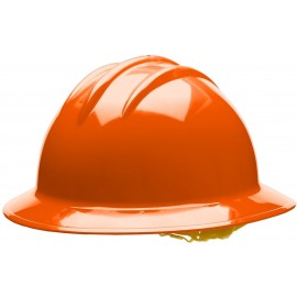 Bullard C34 34ORR 6pt Ratchet Classic Extra Large Full Brim Style Orange Hard Hat 20/Case