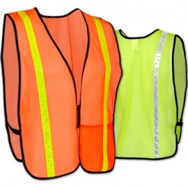 Occunomix Economy Mesh Vest with Reflective Tape