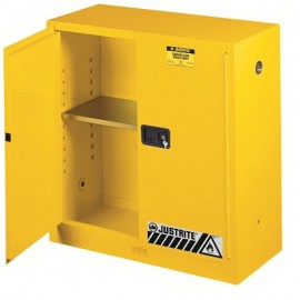 Perfect Justrite Sure Grip EX Safety Cabinet   30 Gallon