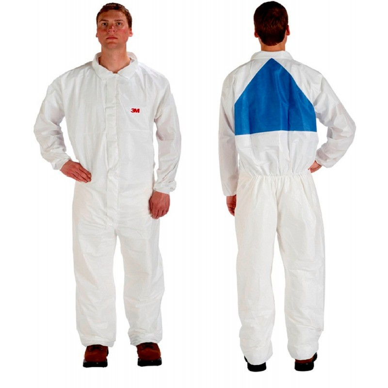 3M Disposable Protective Coverall Safety Work Wear 4540+CS-BLK-3XL 25 EA/Case