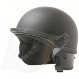 Hatch Fiberglass/Kevlar Riot Helmet with Gridded Face Shield
