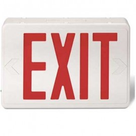 Brooks LED Exit Sign w/Battery Back-Up