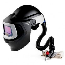3M™ Speedglas™ Fresh-Air III Supplied Air System with V-300 Air-Regulating Valve and 3M™ Speedglas™ Welding Helmet 9100MP, 27-5902-20SW, with Hard Hat, SideWindows and Auto-Darkening Filter 9100X, Shades 5, 8-13