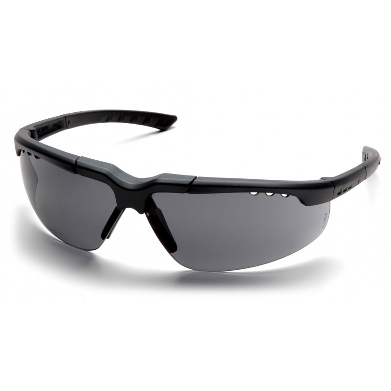 Pyramex Safety - Reatta - Charcoal Frame/Gray Lens Polycarbonate Safety Glasses - 12 / BX