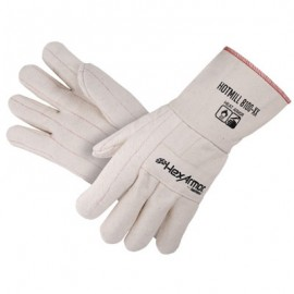 HexArmor Heat Armor Hotmill Glove White Color 1 Pair