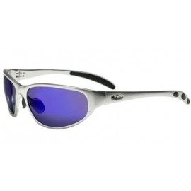 OCC302 Safety Glasses with 1236 Aluminum Frame and  Blue Mirror Lens