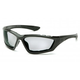 Pyramex  Accurist  Black Padded Frame/Light Gray AntiFog Lens  Safety Glasses  12/BX