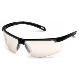 Pyramex  EverLite  Black Frame/Indoor/Outdoor Mirror AntiFog Lens  Safety Glasses  12/BX