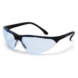 Pyramex Safety - Rendezvous - Black Frame/Infinity Blue Anti-Fog Lens Polycarbonate Safety Glasses - 12 / BX