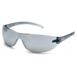 Pyramex  Alair  Silver Mirror Frame/Silver Mirror Lens  Safety Glasses  12/BX