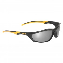 DeWALT DPG96-6D Router Silver Mirror Lens Safety Glasses (1 DZ)