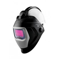3M™ Speedglas™ Welding Helmet 9100 QR 06-0100-20QR, with Auto-Darkening Filter 9100X and Hardhat H-701R