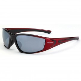 Radians RPG Silver Mirror Black/ Red Safety Glasses/y Red 12 PR/Box