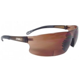 Radians Rad-Sequel Bifocal Safety Glasses with Coffee Lens