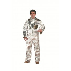 19oz Aluminized Rayon Coveralls