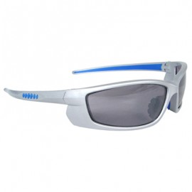 Voltage Safety Glasses - Silver Frame, Smoke Lens