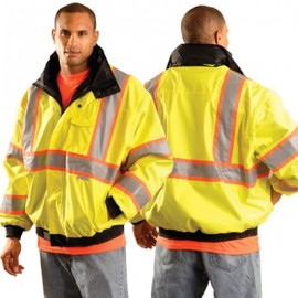 OccuNomix Two-Tone Class 3 with 3M Scotchlite Reflective Tape Bomber Jacket