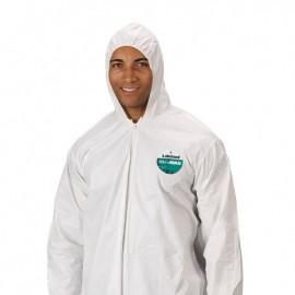 Lakeland TG428 MicroMax Coverall - Zipper Closure White Color 25/Case