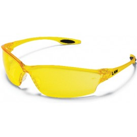 MCR Law2 Safety Glasses with Amber Lens 12/Box