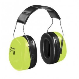 3M™ PELTOR™ Optime™ 105 Over-the-Head Earmuffs - H10A HV - High Visibility