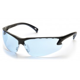 Pyramex Safety - Venture 3 - Black Frame/Infinity Blue Lens Polycarbonate Safety Glasses - 12 / BX