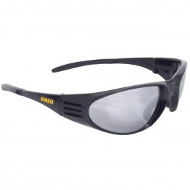 Radians DEWALT Ventilator - Silver Mirror Lens - Black Frame Safety Glasses Full Frame Style Black Color - 12 Pairs / Box