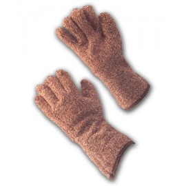 "Terry Cloth Seamless Knit Glove- 4.5"" Gauntlet Cuff (LARGE)"