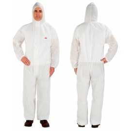 3M Disposable Protective Coverall Safety Work Wear 4515-L-White 20 EA/Case