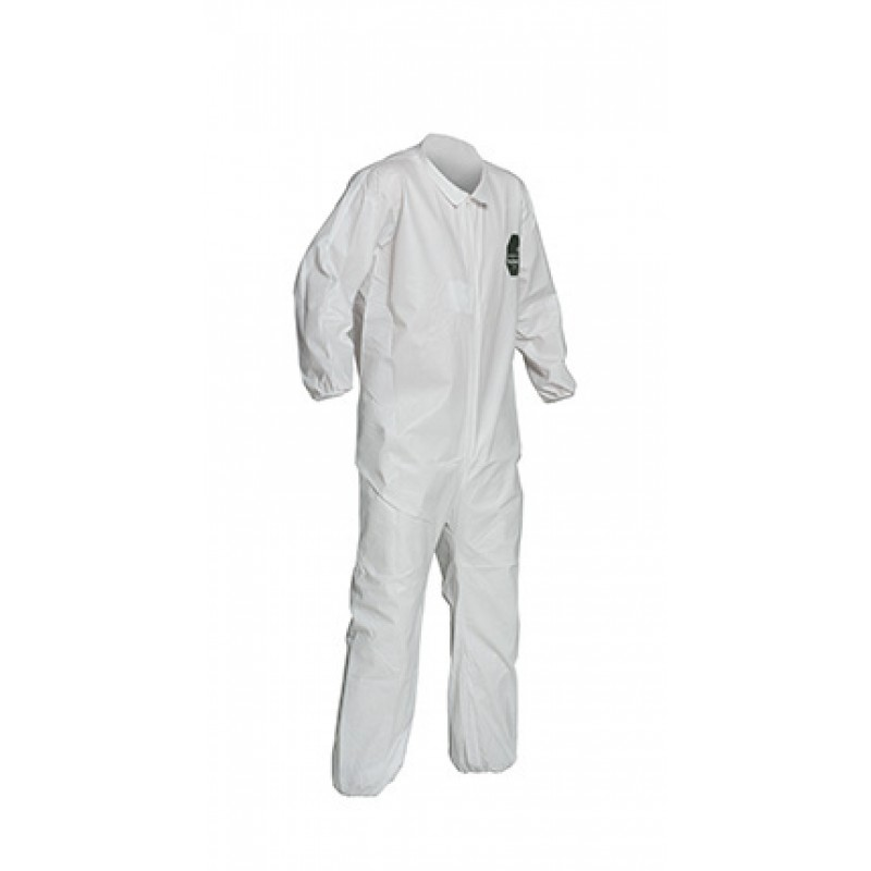 Dupont ProShield 50 NB125S Microporous Coveralls - Elastic Wrists & Ankles, Serged Seams (Case of 25)