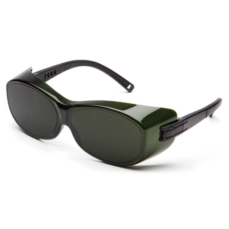 Pyramex Safety - OTS - Black Frame/5.0 IR Filter Lens Polycarbonate Safety Glasses - 12 / BX
