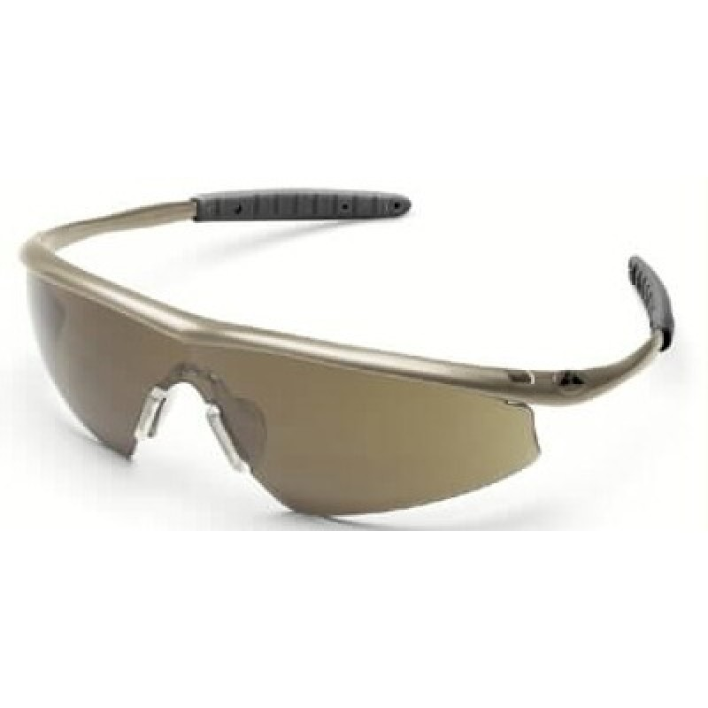 Tremor Safety Glasses with Taupe Frame and 1244 Lens ...