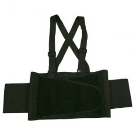 Cordova Back Support Belt with Suspenders