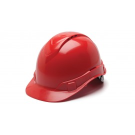 Pyramex HP44120V Ridgeline Hard Hat Red Color - 16 / CS