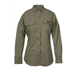 NSA TCGSSWN00112 Women's TECGEN SELECT FR Work Shirt