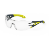 HexArmor MX200 Anti-Fog Scratch Resistant Safety Glasses TruShield™2F Clear Lens Clear Color - 12 / Box