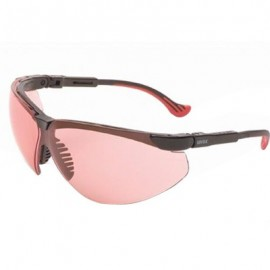 Uvex Genesis XC Safety Glasses - Vermilion Lens
