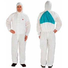3M Disposable Protective Coverall Safety Work Wear 4520-XL/46772(AAD 1/Bag, 20 Bags EA/Case
